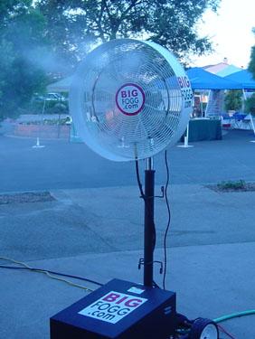 Big Fogg Misting Systems Press Release September 5, 2004