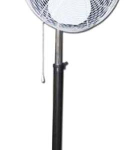 Outdoor Pedestal Industrial Misting Fan-Oscillating