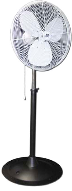 Outdoor Pedestal Industrial Misting Fan-Oscillating