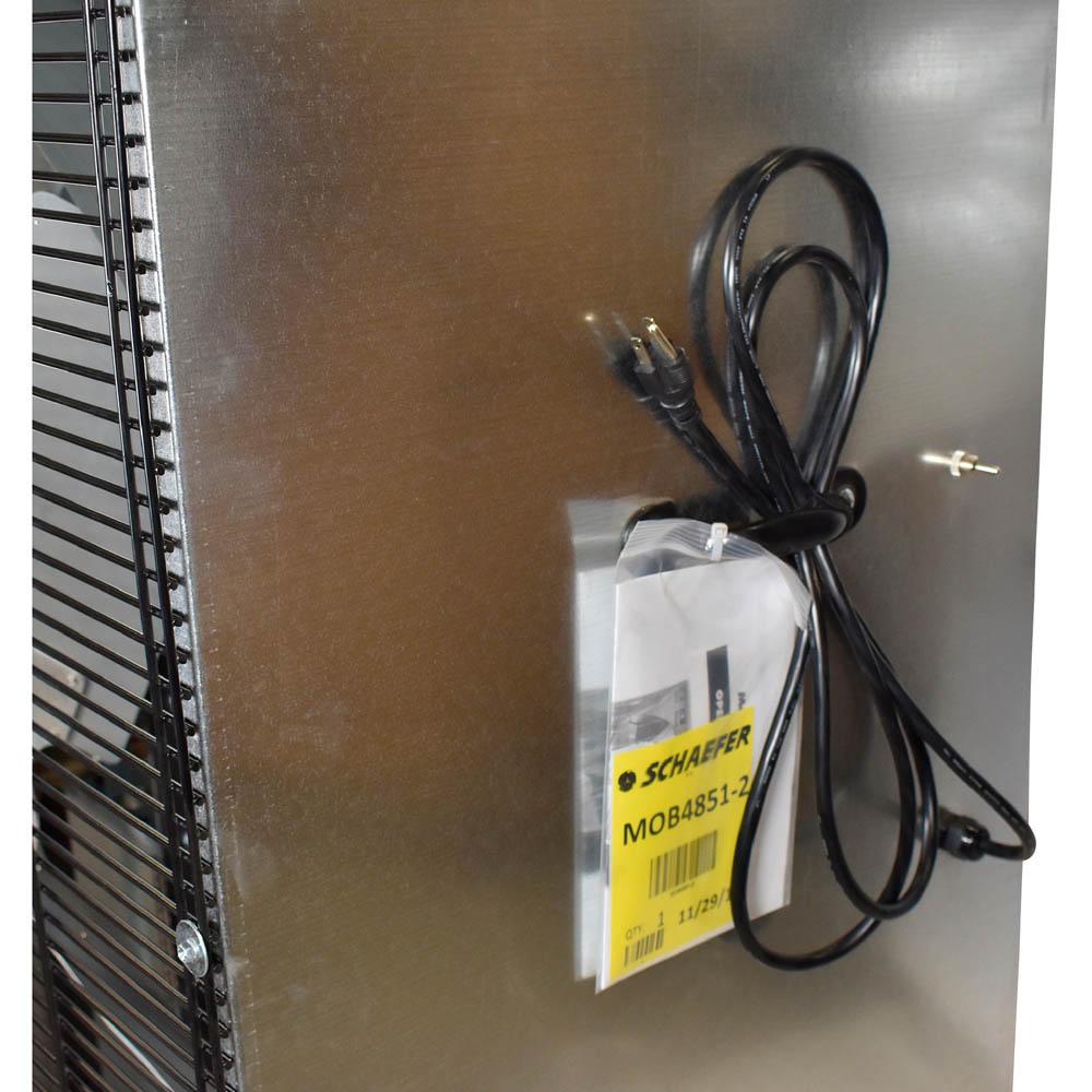 """48"""" Schaefer Mobile Box Misting Fan"""