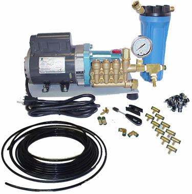 High Pressure Nylon Misting System
