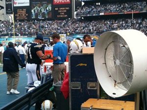 BIGG FOGG TO PROVIDE MISTING FANS FOR VIKINGS PLAYOFF GAME AGAINST SAINTS