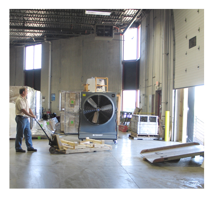 ProKool 1Hp High Velocity Evaporative Cooling Unit - Misting System