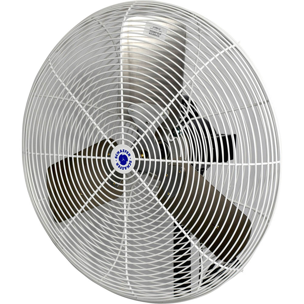 "24"" Schaefer Circulation Fan Head - Mist Fan"