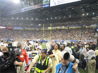 Big Fogg Misting Systems chosen by NFL to provide sideline cooling for Super Bowl XL
