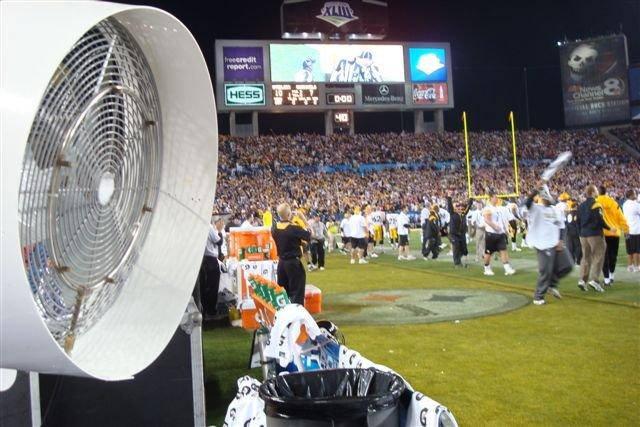 Misting Fans