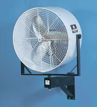 Wall Mount Misting Fan