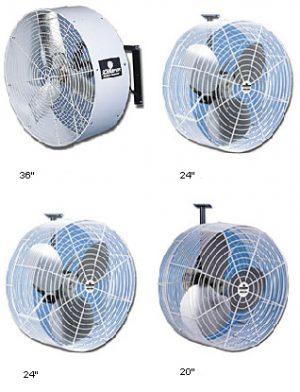 industrial wall mount Misting Fan