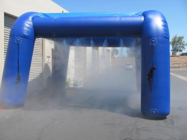 Inflatable Misters