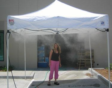 Misting Tents