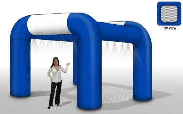 Inflatable Mid-Pressure Mister 10x10