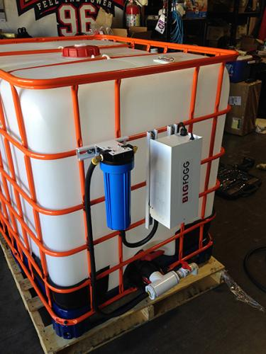 Water Misting Tanks