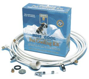 Pet Cooling Misting Kit