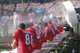 Big Fogg Misting Systems chosen by NFL to provide Misting Fans for both sidelines at the Pro Bowl
