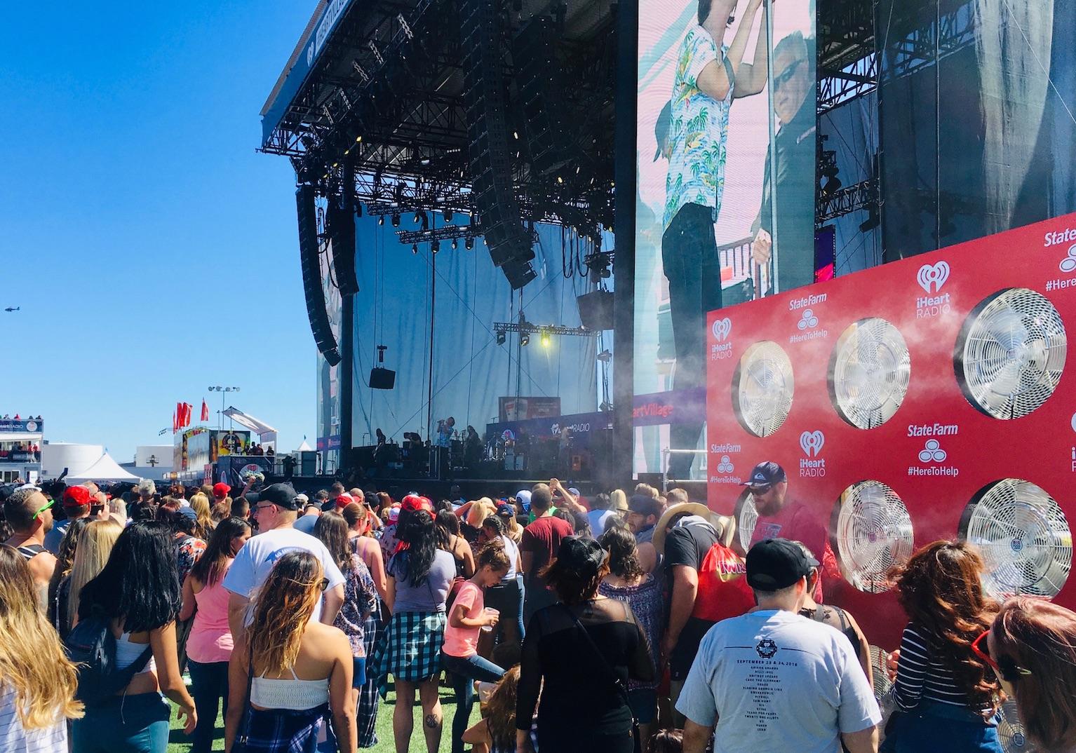 FESTIVALS, CONCERTS & EVENT MISTING
