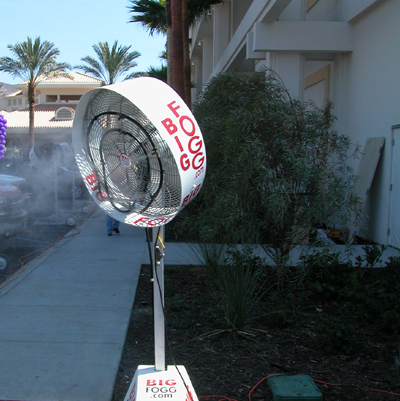 Big Fogg Misting Systems cools grand opening of Harrah's Casino