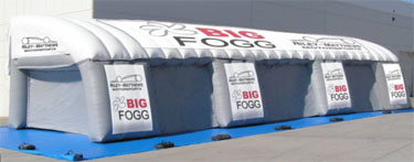 Big Fogg and Riley Motorsports Partner on new product enabling racing teams to stay cool during the heat of the races.