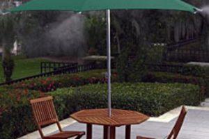 Misting Umbrella