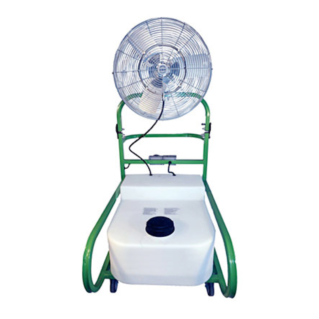 18 Gallon Air Chiller Portable Fold Down Fan