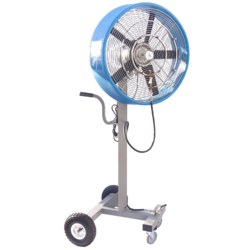 Work Zone High Pressure Satellite Misting Fan