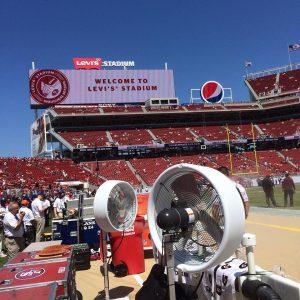 High Pressure Misting Fans