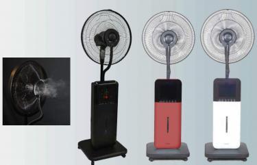 Cool Zone Ultrasonic Misting Fan