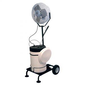 Handimist III Portable Misting Fan Cart (10 gallon tank)