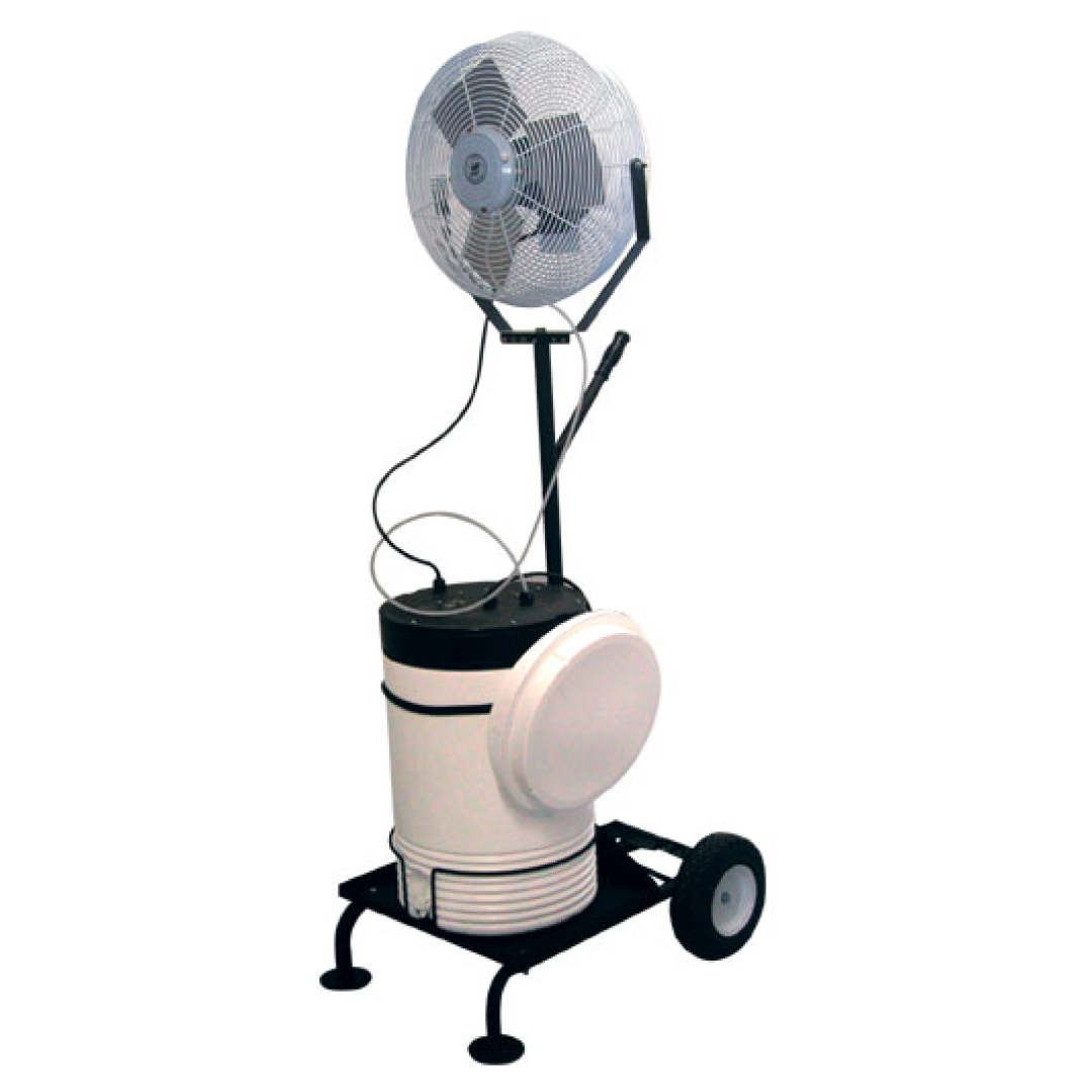 Handimist III Portable Misting Fan Cart (10 gallon tank)