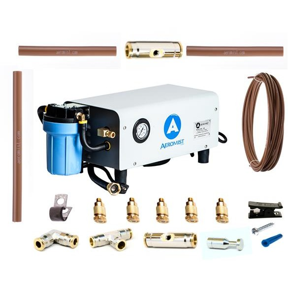 Mid Pressure Nylon Professional Misting System