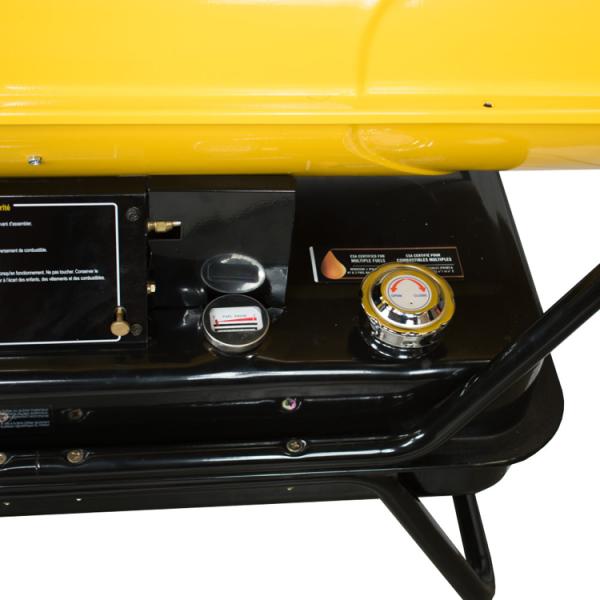 Kerosene Diesel Forced Air Torpedo Heater 400000