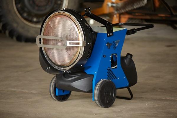 Veloci Fire 155 Mobile Radiant Heater