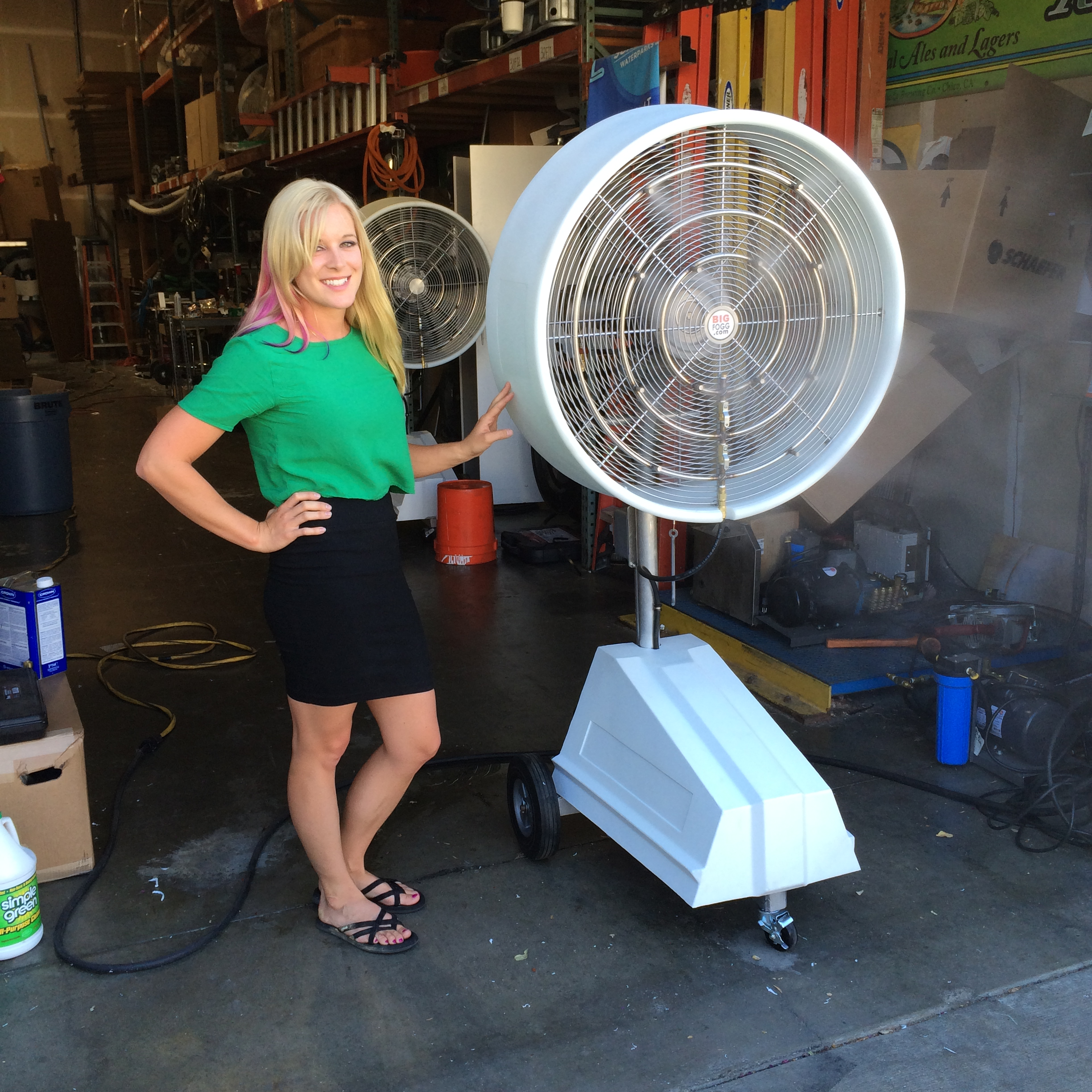Explosion Proof Misting Fans