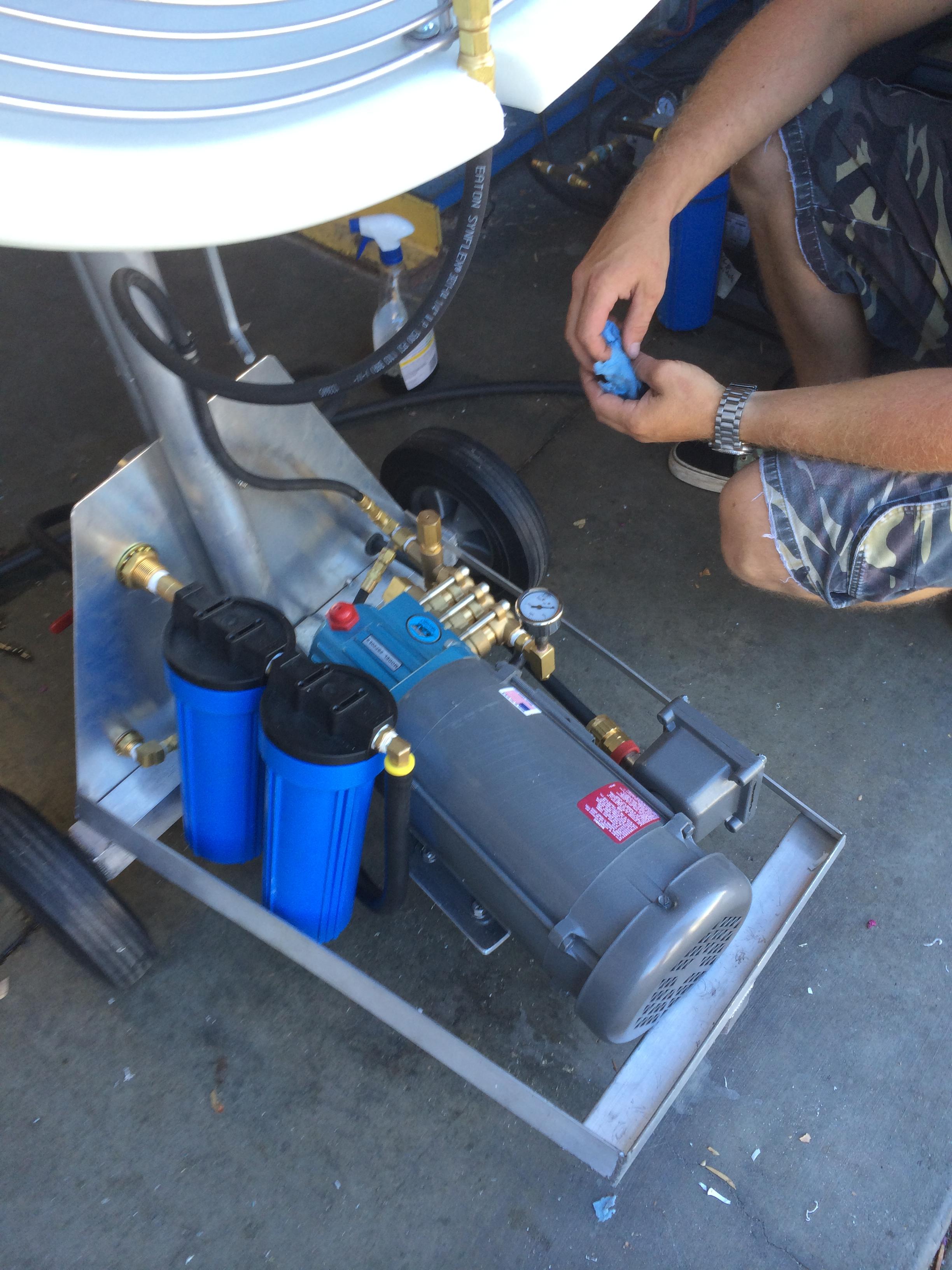 Misting Pump System