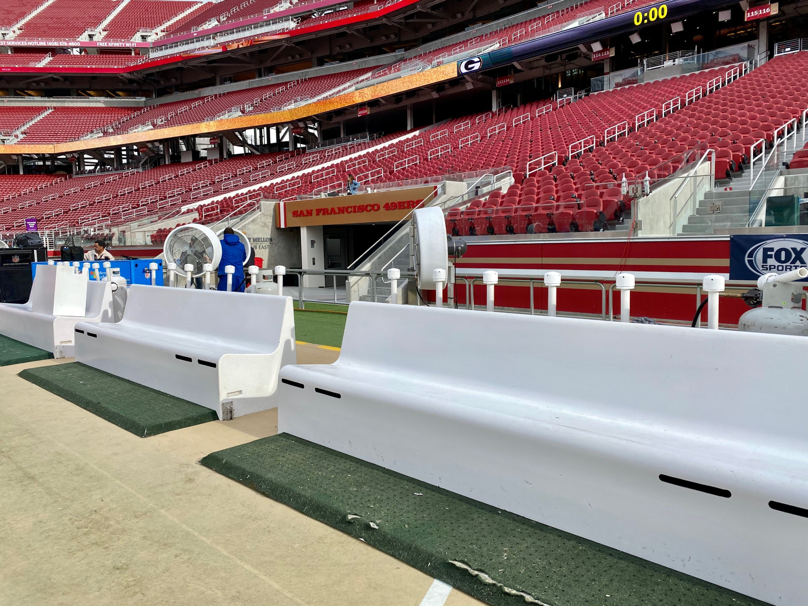 BIG FOGG TO SET UP ITS SIDELINE HEATING BENCHES AT THE NFCCHAMPIONSHIP GAME BETWEEN   SAN FRANCISCO 49ers & THE GREEN BAY PACKERS ON DECEMBER 19, 2020