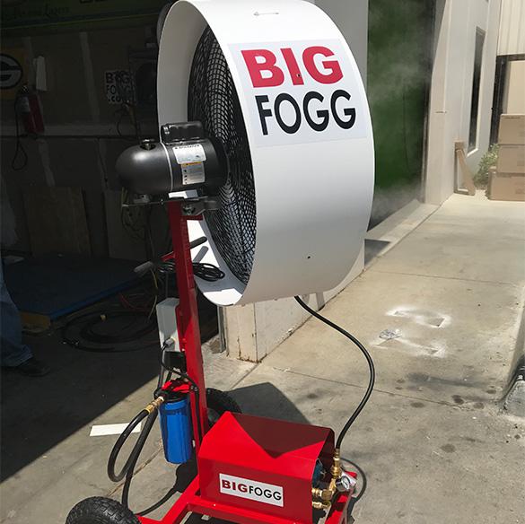 BIG FOGG- HPOSC fan , 24