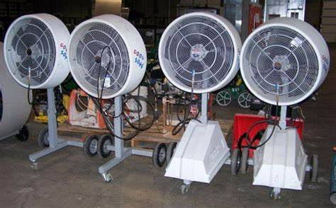 How was Big Fogg Misting Fans Started
