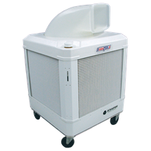 side angle Way Cool Evaporative Coolers