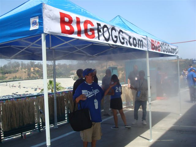 Big Fogg Builds Largest High-Pressure Misting Tent at Electrical Daisy Carnival (EVER) in Las Vegas, June 24-26th