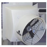 Polyethylene Flush Mount Exhaust Fans