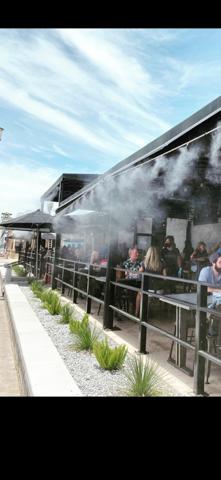 big fogg restaurant misting systems at fresco dining