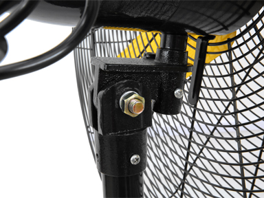 """fixed screws with the fan and mount for 30"""" Master High Velocity Pedestal Fan"""