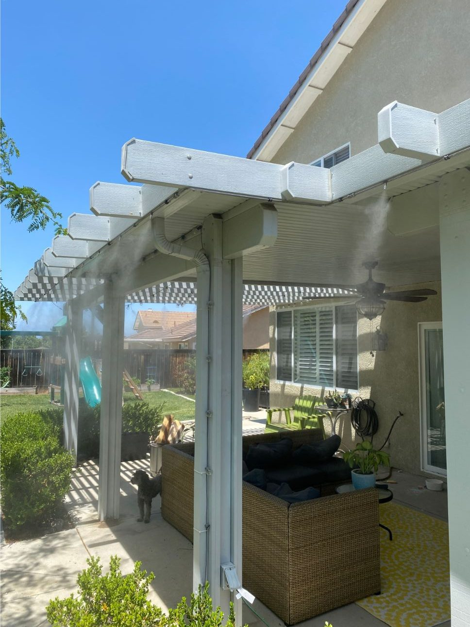 Big Fogg Patio Misters Are Easy To Use