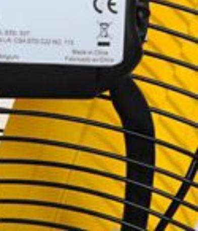 "30"" High Velocity High Velocity Floor Fan warning label"