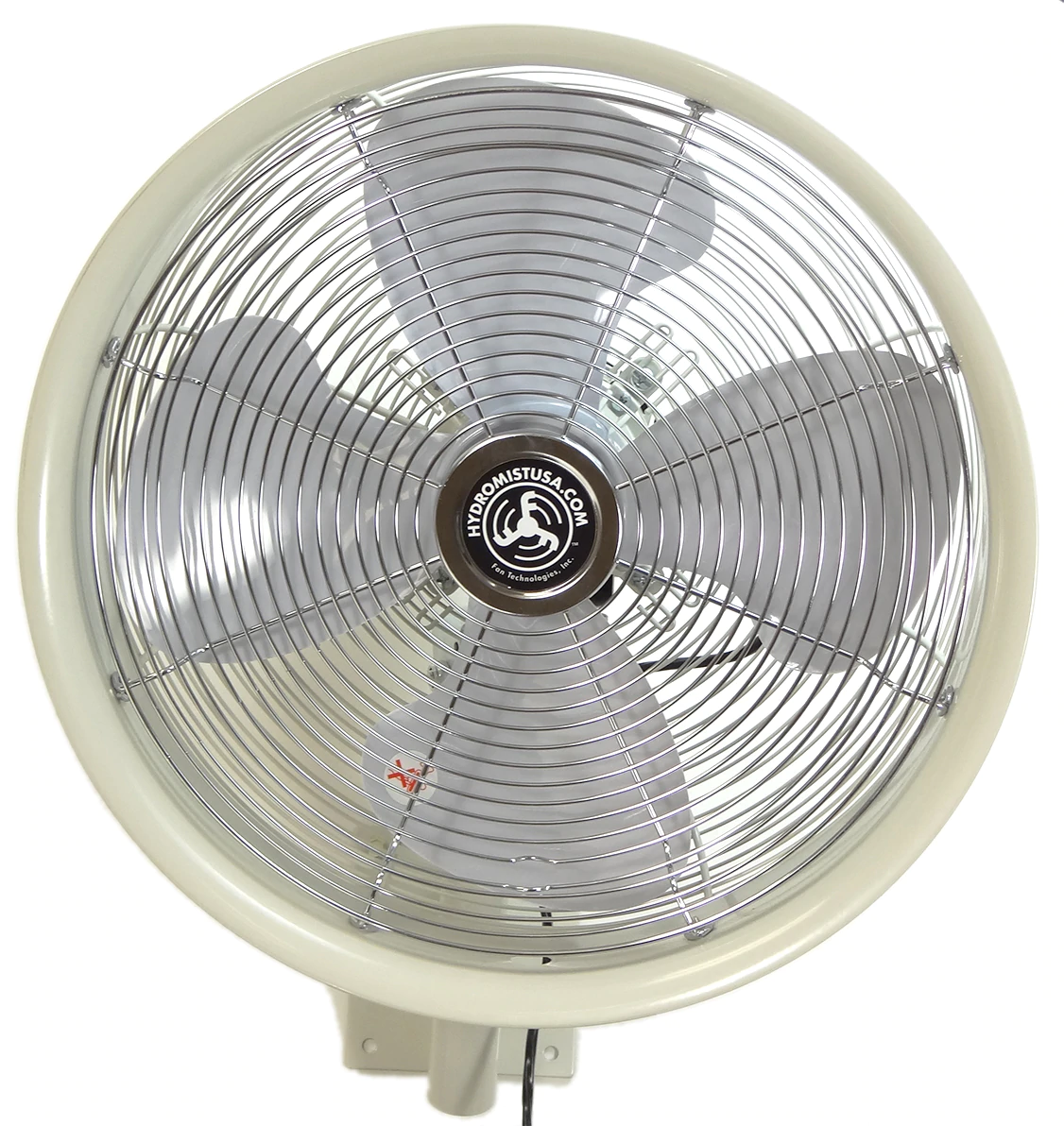 fan with 4 blades front view of 18 inch fan with speed control