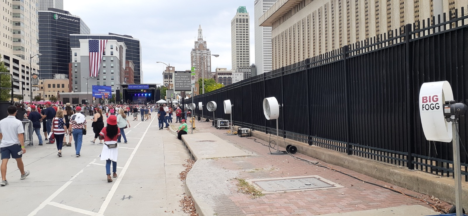 Bring the Benefits of Outdoor Cooling to Your Next Campaign Event
