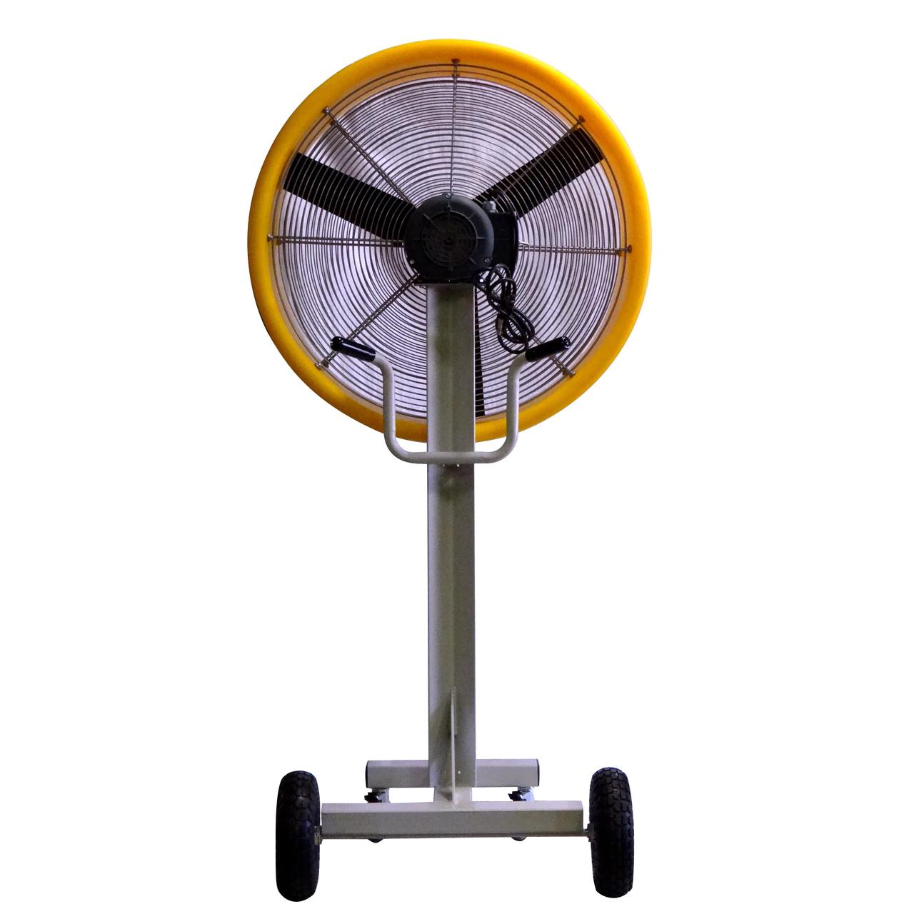 "back view of The ""BEAST"" Industrial Outdoor/Indoor 30-inch Shrouded Fixed Floor Fan-1 Speed"