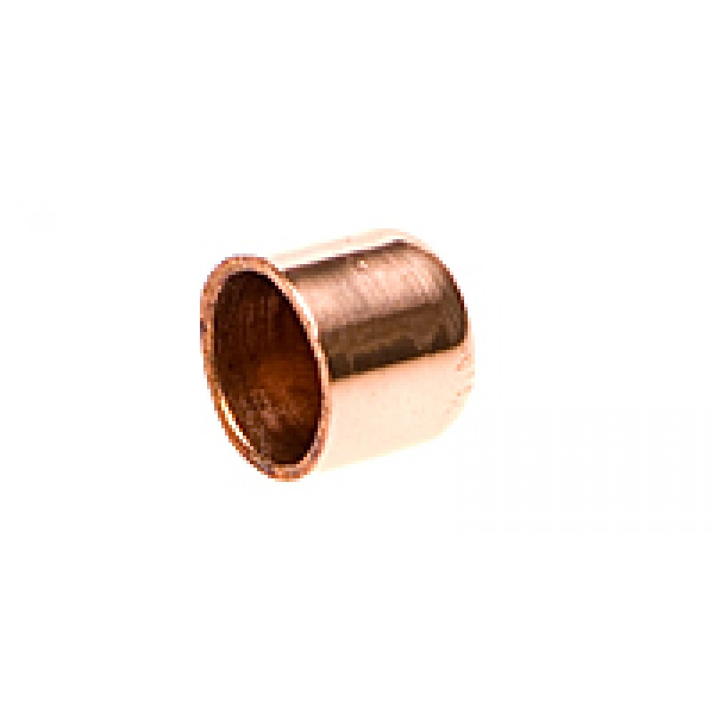 """Side view of Copper Cap 3/8"""""""