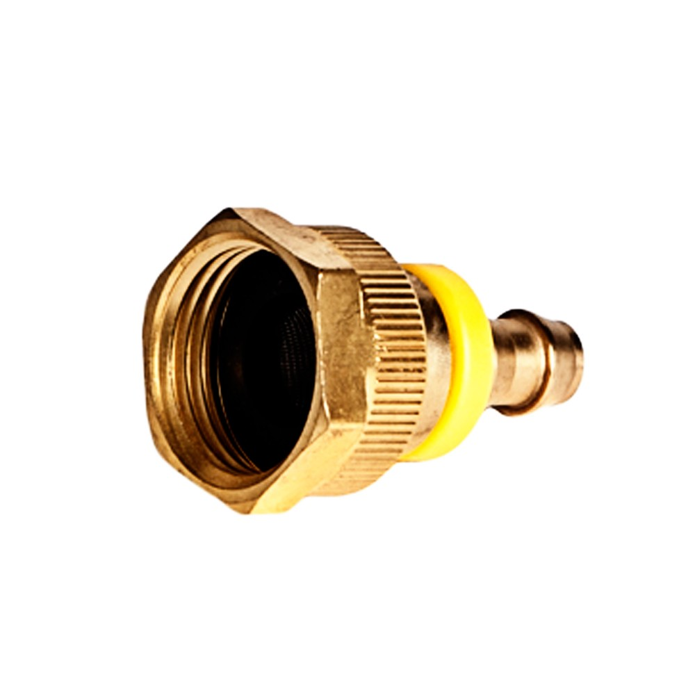 """Side view of Hose Adapter 3/4"""" FGHT x 3/8"""" Hose Barb"""