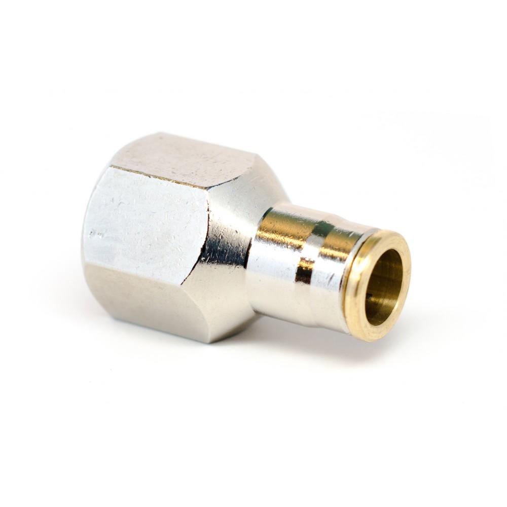 "side view of 3/8"" x 1/4"" NPT Slip Lok Female Adapter"