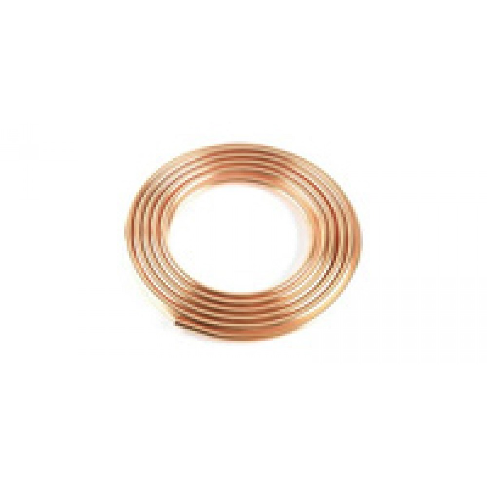 """Copper Tubing 1/4"""" O.d. 50 Ft Coil"""